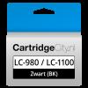 Brother LC-980BK LC-1100BK Zwart Huismerk