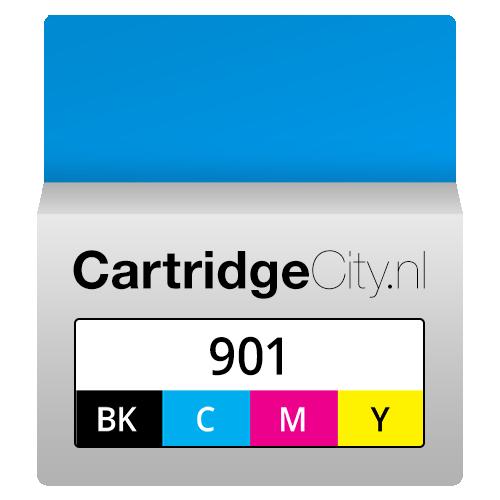 HP 901 Zwart en Kleur Voordeelverpakking (Huismerk ...