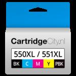 Canon PGI-550XL CLI-551XL Voordeelverpakking Huismerk
