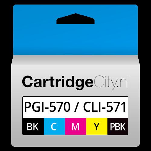 Canon PGI-570BK XL CLI-571CMYBK XL 5 Set