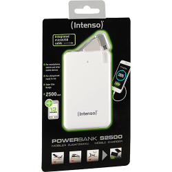 Intenso Powerbank S2500 Wit Verpakking