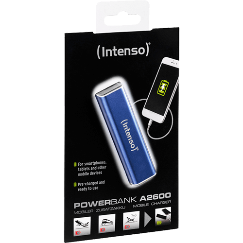Intenso Powerbank A2600 Blauw