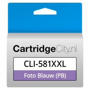 Canon CLI-581PB XXL Foto Blauw Huismerk