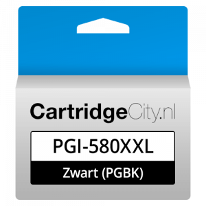Canon PGI-580PGBK XXL Zwart Huismerk