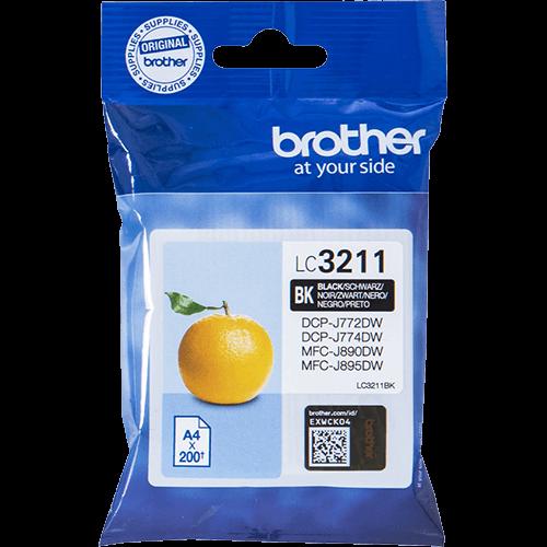 Brother LC-3211BK Zwart Origineel