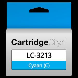 Brother LC-3213C Cyaan Huismerk