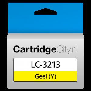 Brother LC-3213Y Geel Huismerk