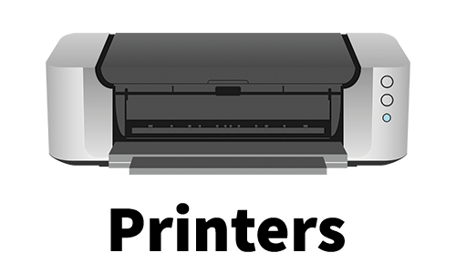 Printer Logo Home