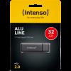 Intenso Alu Line USB Stick 32GB 2.0 Antraciet
